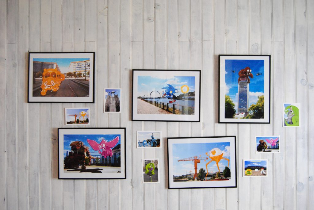 J'aime Nantes série d'affiche et cartes postales de nantes 44