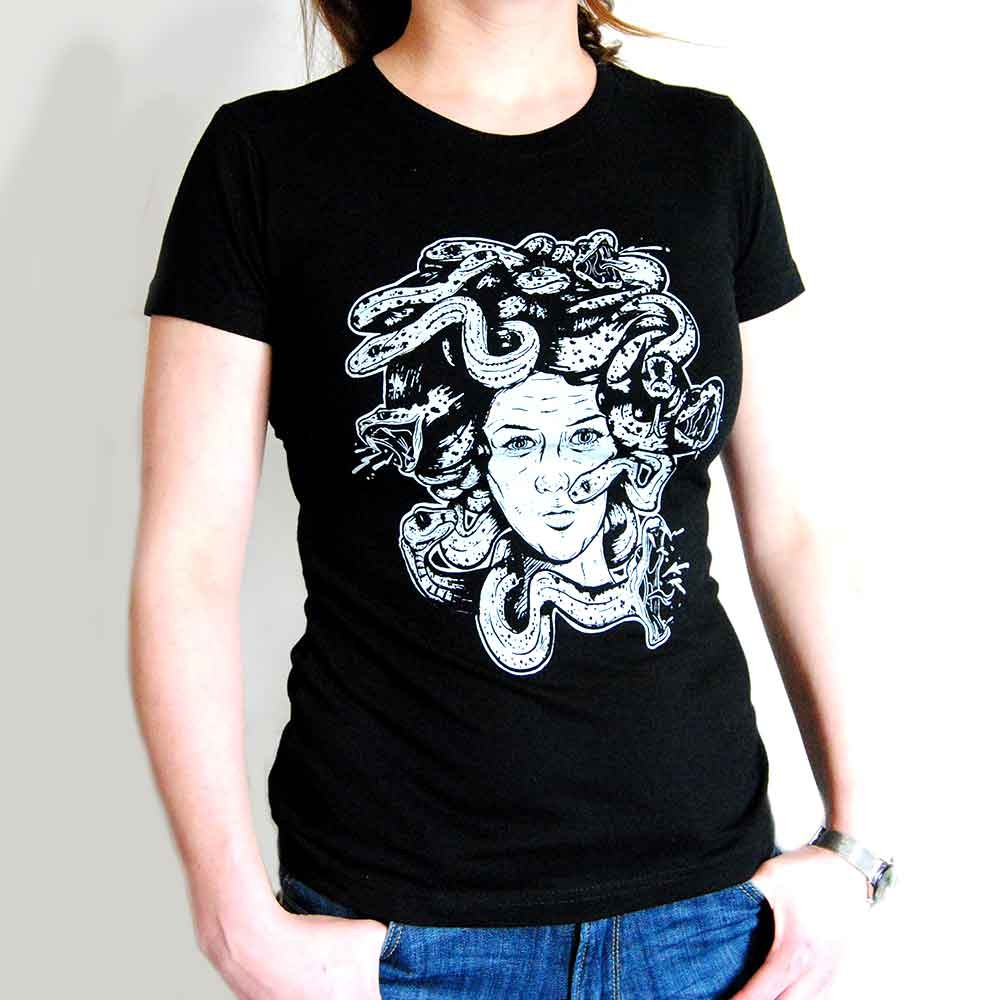 Tee Petite Shirt Édition Imprimé Femme Tattoo Medusa 7yYbfgmI6v