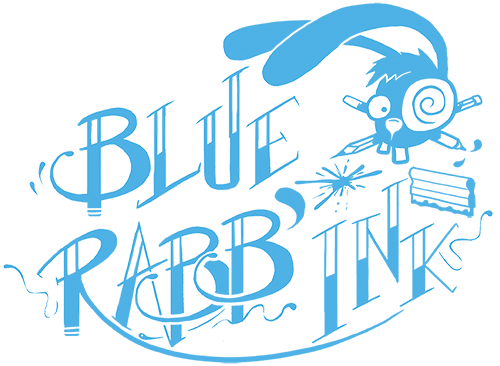 bluerabbink_logo_serigraphie_illustration